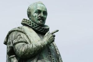 Standbeeld van Willem van Oranje in Den Haag.