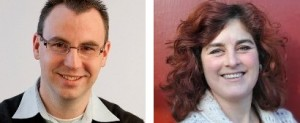 Onze nummers 1 en 2, Rob Geleijnse en Marije Willems.